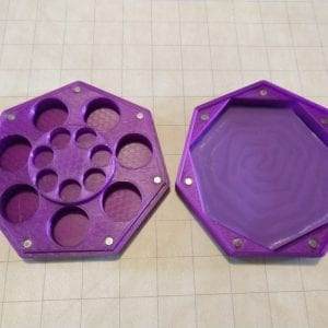 Dice Cases Dual Regular & Mini RPG Dice Case/Tray