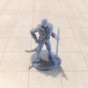Adventurers/NPCs Tiefling Male Barbarian