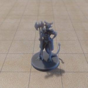 Adventurers/NPCs Tiefling Female Death Cleric