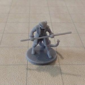 Adventurers/NPCs Tiefling Male Monk