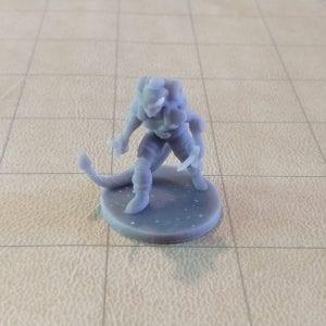 Adventurers/NPCs Tiefling Female Rogue