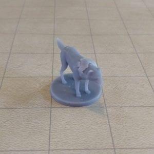 Miniatures Wolf