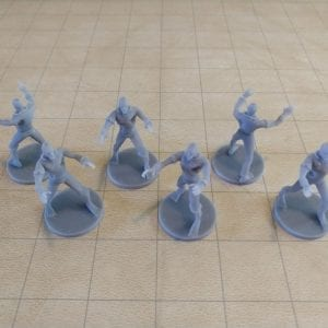 Miniatures Zombie Pack