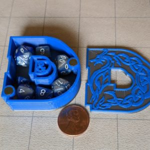 Dice Cases D&D Mini Dice Case