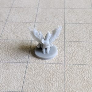 Miniatures Fire Fennec Fox Wild Shape