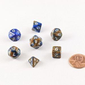 Dice Gemini Mini Middle Earth Polyhedral Dice Set