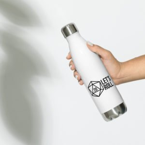 Goodies Let's Roll Stainless Steel Water Bottle